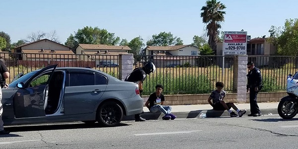 HEMET: Juvenile probationers arrested after failing to yield during traffic stop